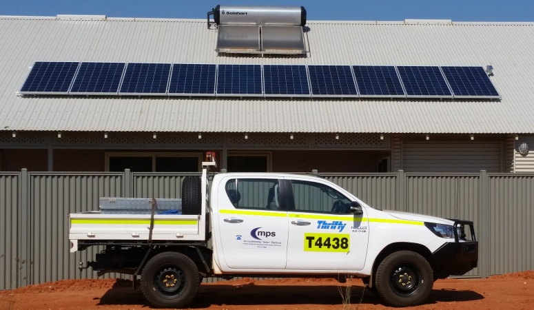 Solar Array South Hedland