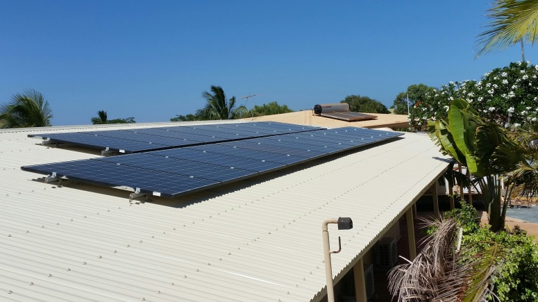 Solar Array Port Hedland