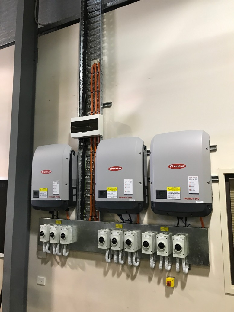 Fronius Commercial Inverter Installation